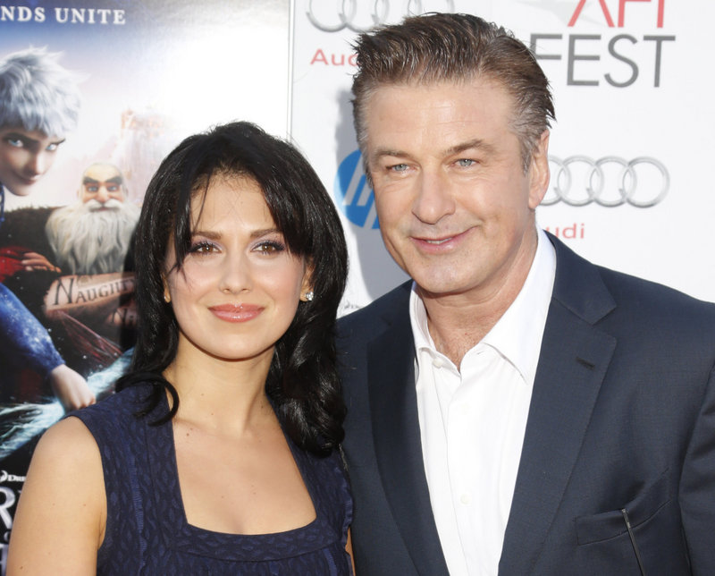 Hilaria Thomas and her husband of eight months, actor Alec Baldwin, are expecting their first child late this summer.