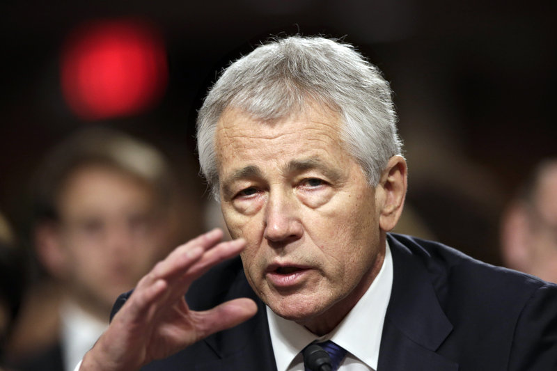 Senate Republicans on Thursday blocked the nomination of former GOP Sen. Chuck Hagel as the nation's next defense secretary.