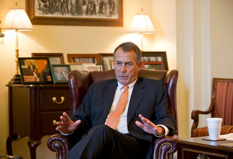 House Speaker John Boehner, interviewed Wednesday at his Capitol office, says he is skeptical of many of the plans laid out by President Obama in his State of the Union address.