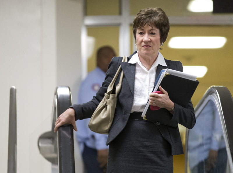 Sen. Susan Collins, R-Maine, a moderate who was once thought to be a backer of Chuck Hagel's nomination for defense secretary, now says she'll oppose his confirmation.