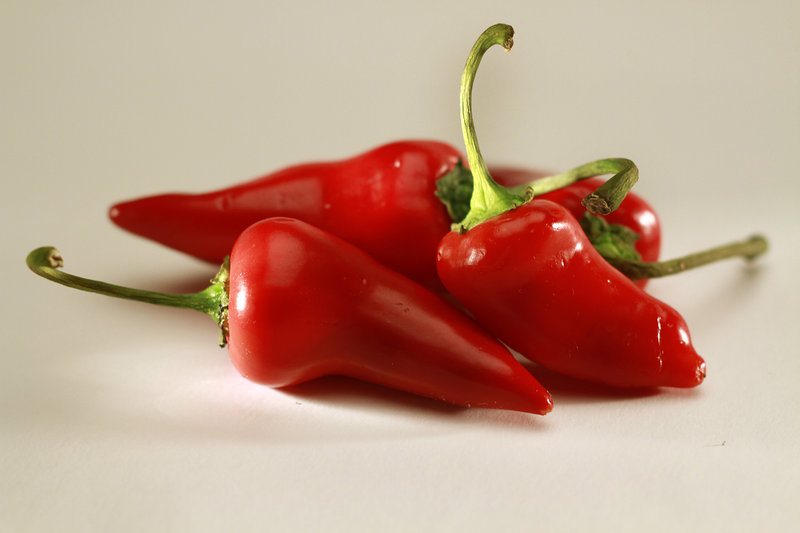 Red jalapeno chiles