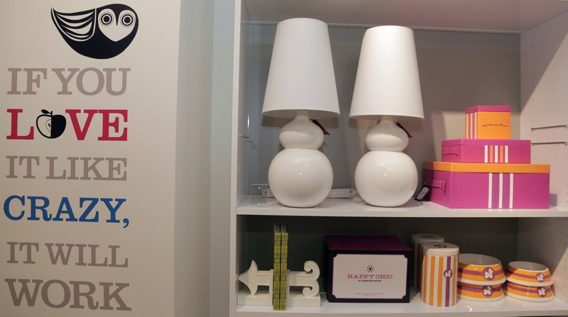 "Jonathan Adler ""Happy Chic"" products at a J.C. Penney location in Dallas."