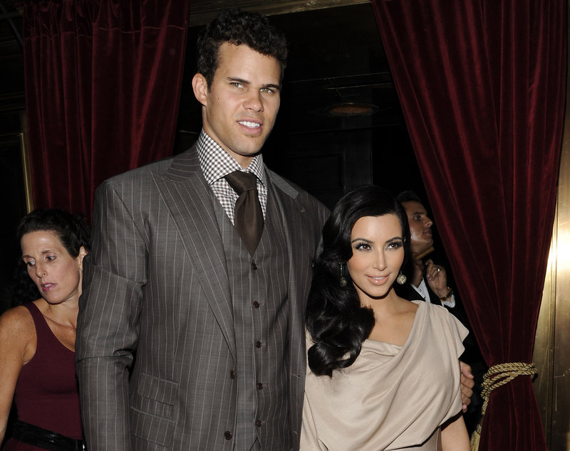 Kim Kardashian and Kris Humphries, seen two years ago, will be in court on May 6. Kardashian is seeking a divorce, Humphries wants an annulment.