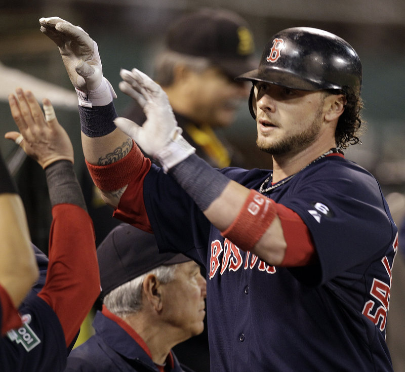 Jarrod Saltalamacchia will be the No. 1 catcher for the Boston Red Sox this season, but it is unclear if he will be in the team's long-range plans. That could set the stage for others to claim that role beyond 2013.