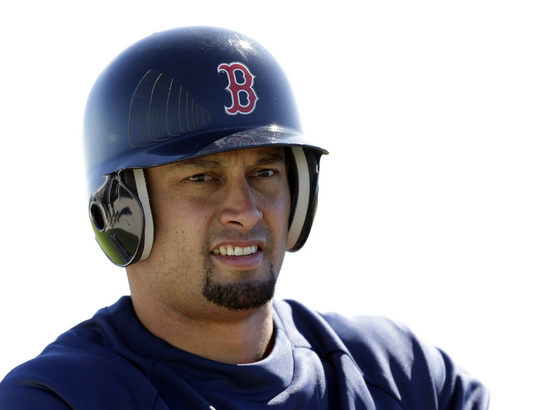 Shane Victorino, brought in on a three-year, $39 million contract, is expected to man right field for the Red Sox.