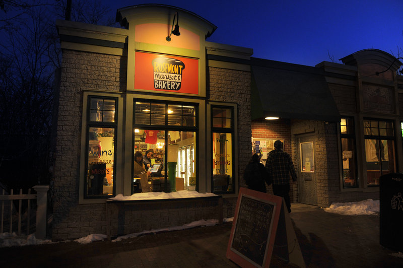 Rosemont Market & Bakery and Hilltop Coffee Shop on Congress Street have become popular spots among Munjoy Hill locals.