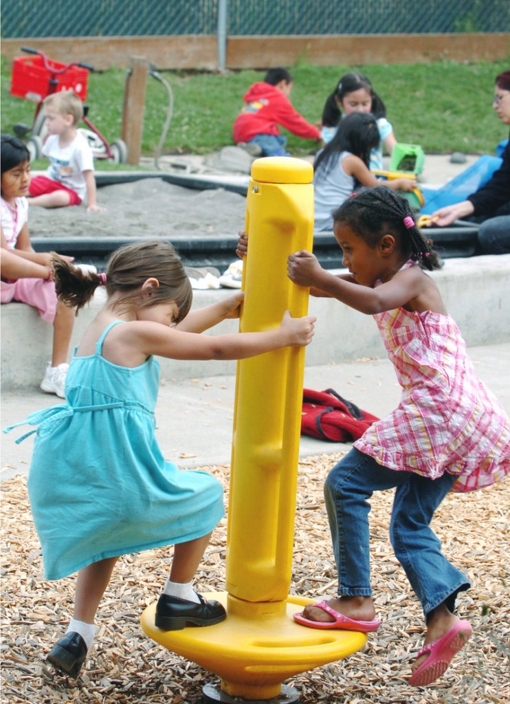 Children play together at a Head Start program in Hillsboro, Ore., in 2007. Supporters of Head Start and other pre-K programs mean well but don't acknowledge that such programs can't make up for poor parenting and a neglectful home environment, a reader says.