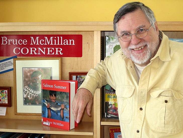 Children's author Bruce McMillan will head a photography workshop for children at 3:30 p.m. Wednesday at Springvale Public Library.