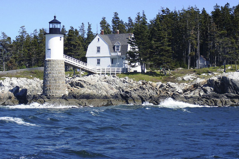 The lighthouse keeper's house on Isle au Haut is expected to reopen as an inn this summer.