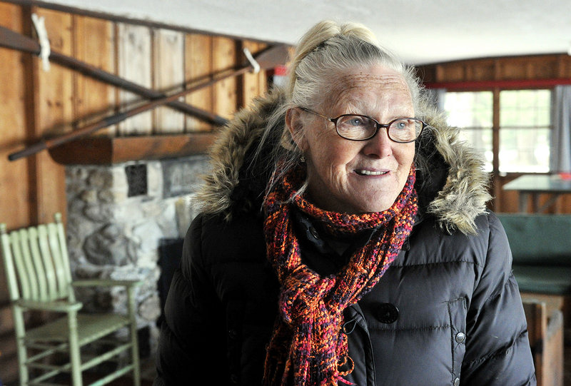 Susan Bennett, whose family owns Aimhi Lodge on Little Sebago Lake, says it is time to sell the property. The family tried selling the business but found no takers, so now propose to subdivide the land into eight lots.
