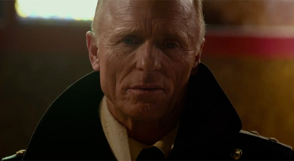 "Ed Harris plays a Soviet submarine skipper in the Cold War-era thriller ""Phantom."""