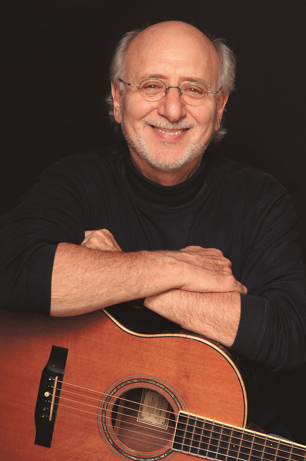 Folk singer Peter Yarrow of Peter, Paul and Mary fame performs on March 7 at the Leura Hill Eastman Performing Arts Center in Fryeburg.