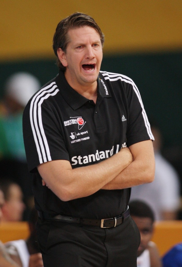 Chris Finch has traveled in Europe as a basketball coach, is now in Houston, and would like his own team to lead.