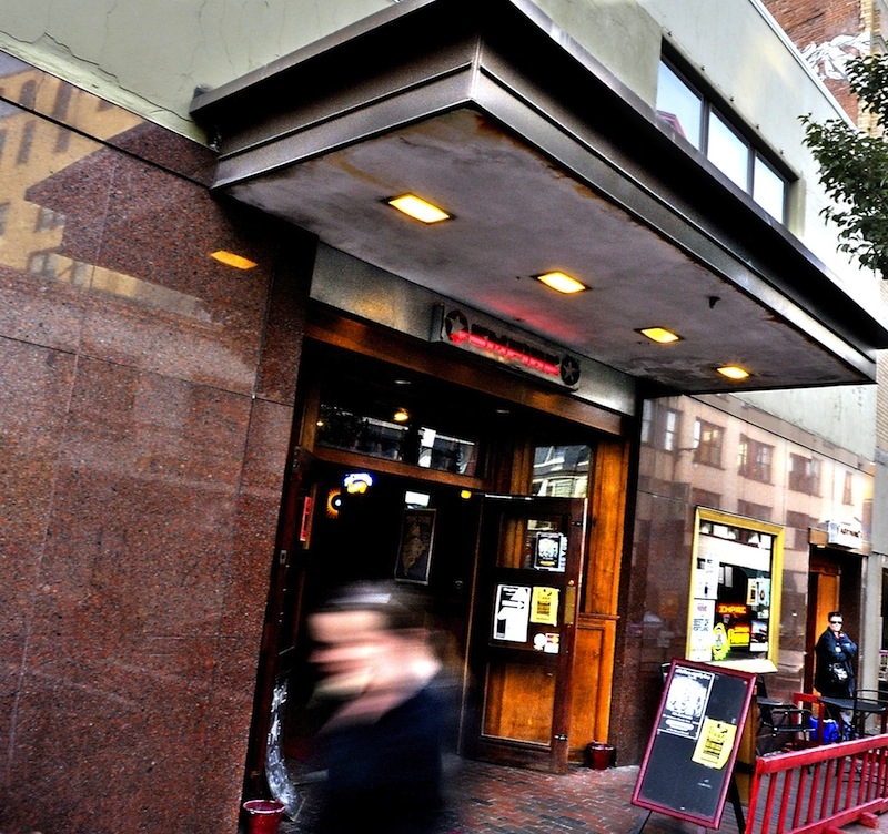 In this October 2009 file photo, the exterior of Empire Dine and Dance on Congress Street in Portland. One of the city's liveliest music venues has been sold, and when it reopens, it will have returned to its Asian roots.