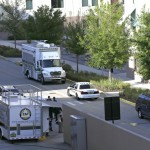 """Investigators from various law enforcement agencies converge on the University of Central Florida in Orlando on Monday. Explosive devices were found after the apparent suicide of a former student who authorities said had planned an attack and """"laid out a timeline."""""""