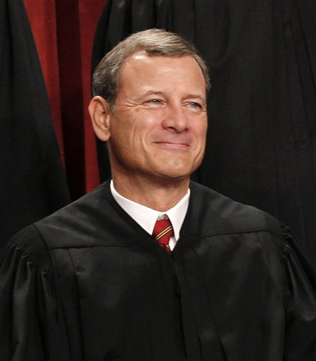 In this Oct. 8, 2010 file photo, Chief Justice John G. Roberts.