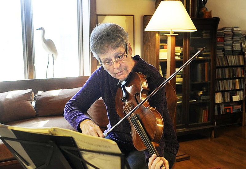 Violist Julia Adams