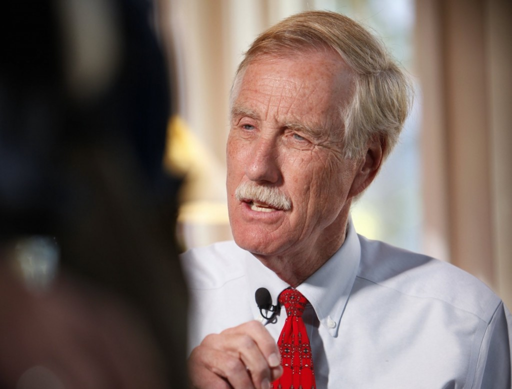 Sen. Angus King, I-Maine, joined 49 other senators – all Democrats except for Sen. Bernie Sanders, I-Vt. – to pass a federal budget for the next fiscal year.
