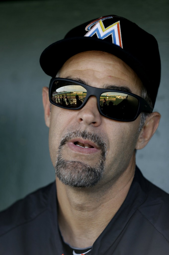 Mike Lowell went through some rough years with the Marlins, but it was worth it in 2003 when he helped the team win the World Series.
