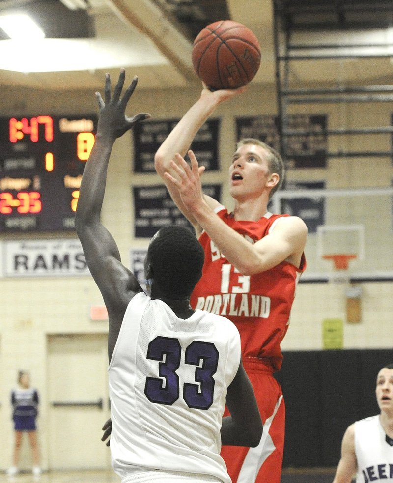 Tanner Hyland distributes the ball and scores big baskets for a team whose players know their roles.