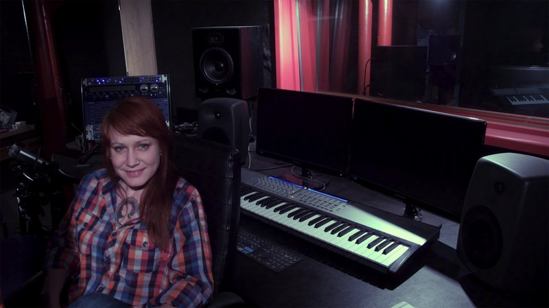 Dilly Dilly, aka Portland musician Erin Davidson, is working on a collaborative record in Colchester, England.