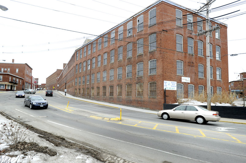 Pepperell Mill Campus in Biddeford on Monday, March 4, 2013, where a 40-room hotel and high-end restaurant is being proposed.
