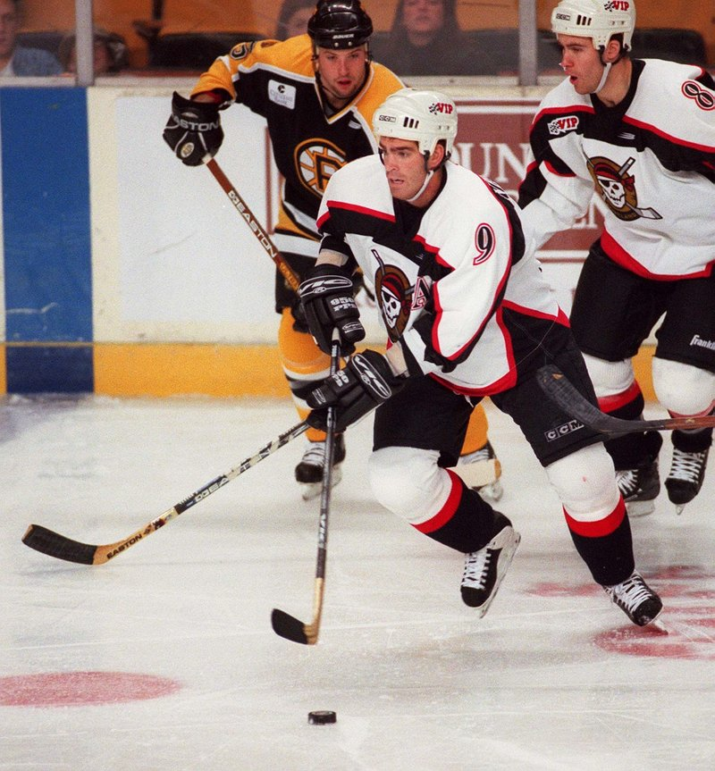Jeff Nelson compiled 107 points during the 1993-94 season while helping the Portland Pirates win their only Calder Cup championship, and he remains the only player in team history to eclipse the 100-point mark.