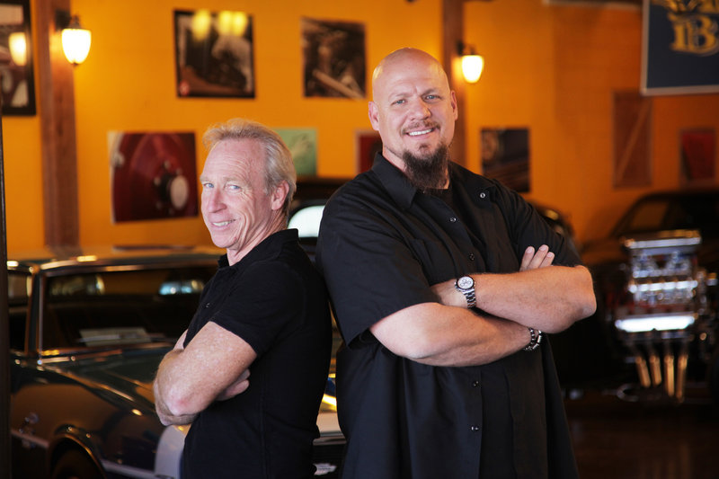 "Perry Barndt, left, and Jeff Allen are featured in ""The Car Chasers,"" a reality series premiering at 10 p.m. Tuesday on CNBC."