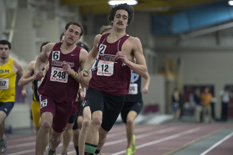 James LePage of Bates, a former Greely High track standout, is hoping to become an All-American in the 800 meters at the NCAA Division III championships this weekend.
