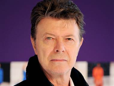 David Bowie in 2010. His first album in 10 years hits stores on Tuesday.