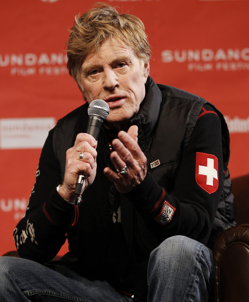 Sundance Institute founder Robert Redford