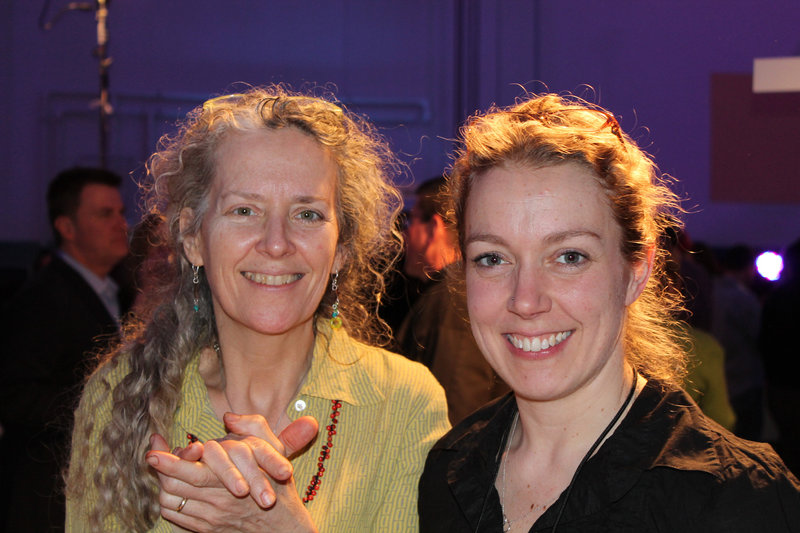 Mary Paine and Melissa Sawyer, co-owners of Pepperclub and the Good Egg Cafe in Portland.