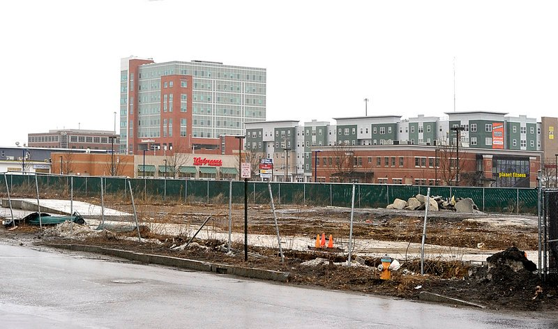 """Thursday's vote clears the way for a $38 million Bayside project known as """"midtown,"""" which would would consist of 180 to 190 market-rate apartments, a six-level parking garage for 705 vehicles and 39,000 square feet of ground-floor retail space."""