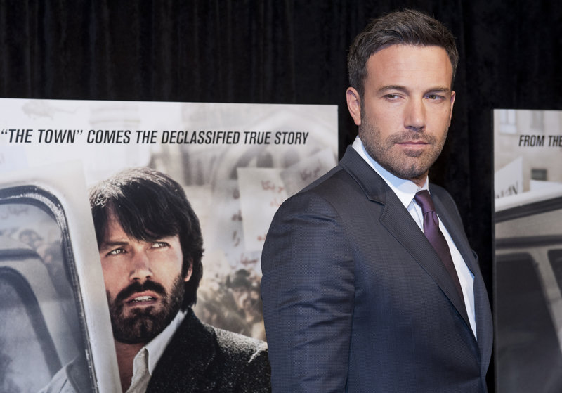 "Director and actor Ben Affleck attends the Washington, D.C., premiere of ""Argo"" last October. Iranian officials object to the film's portrayal of their country."