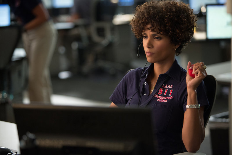 "Halle Berry portrays a veteran 911 operator who must confront a killer from her past in ""The Call."""