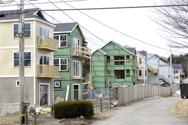 Barefoot Cottage Homes, well under construction in Wells, is among the many lodging developments that garnered town approval during the past decade but now have officials wondering if a moratorium on such projects is long overdue.