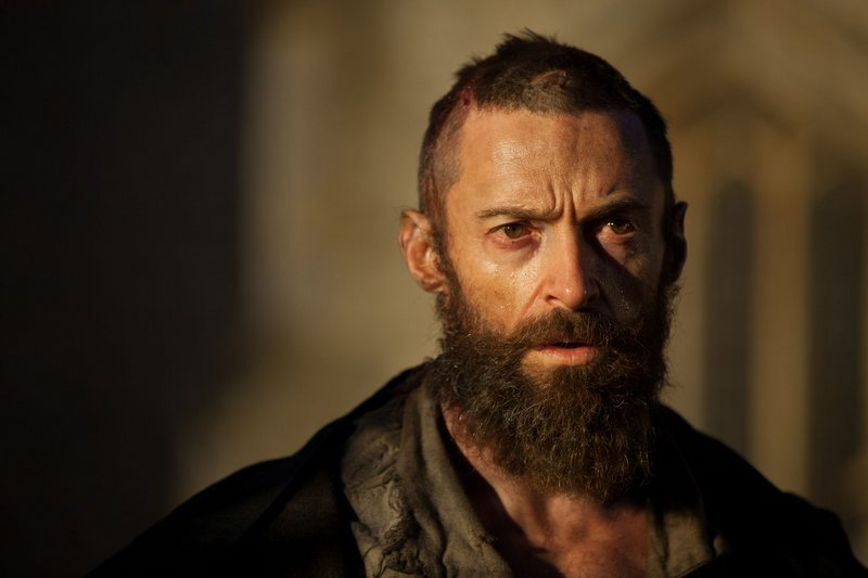 "Hugh Jackman as Jean Valjean in ""Les Miserables."""