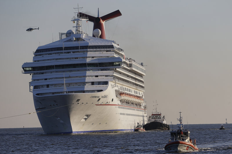 Incidents like the crippling of the Carnival Triumph have slowed the cruise business.