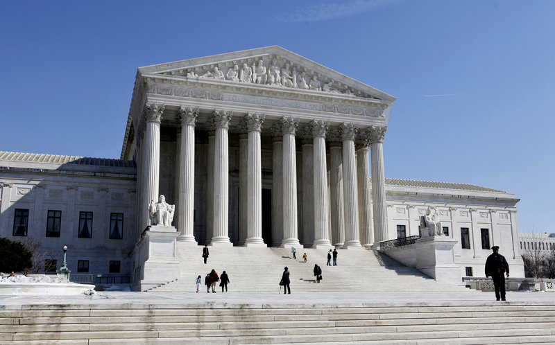 The U.S. Supreme Court is tackling its second voting eligibility issue of the session.