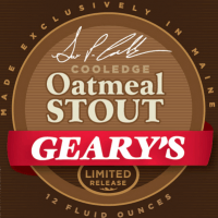 Coincidentally, Geary's Cooledge Oatmeal Stout was that brewery's first in its 25th-anniversary series.