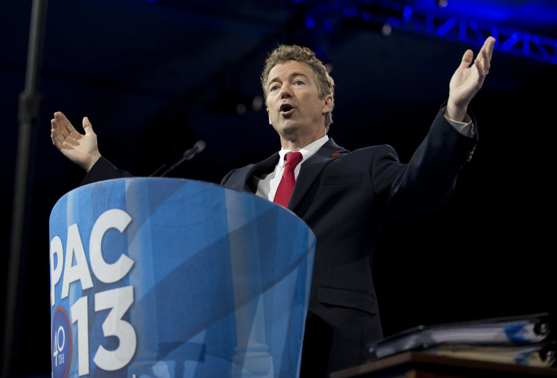 Sen. Rand Paul, R-Ky., is an example of the party's efforts to broaden its ethnic appeal. Rand said Tuesday that illegal immigrants now in the U.S. deserve a pathway to citizenship.