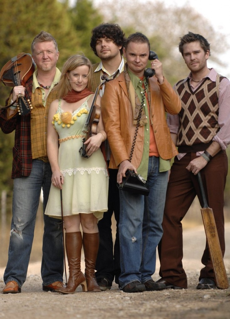 Gaelic Storm brings its rollicking Celtic sound to Stone Mountain Arts Center in Brownfield on Sunday.