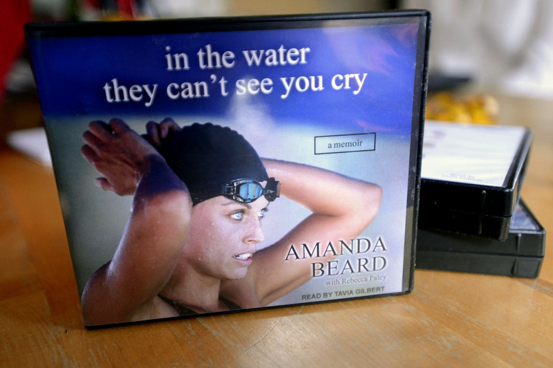 "Among the books recorded by Tavia Gilbert is ""In the Water They Can't See You Cry"" by Olympic swimmer Amanda Beard."