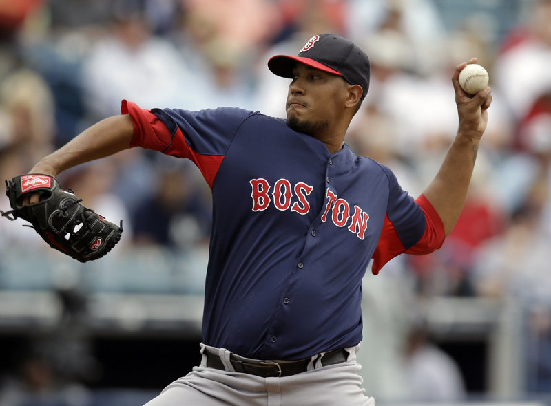 Felix Doubront will be counted on by the Boston Red Sox to improve on last year's 11-10 record with a 4.86 earned-run average in his rookie season.