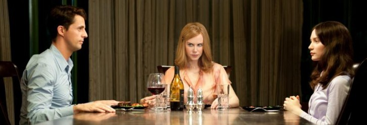 "Matthew Goode, Nicole Kidman and Mia Wasikowska in ""Stoker."""