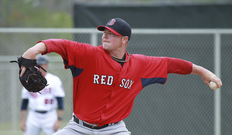 It's no stretch to expect lefthander Jon Lester on the mound for the season opener at Yankee Stadium on April 1.