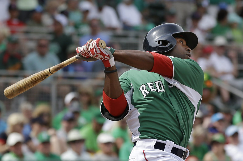 Jackie Bradley Jr. will turn 23 in April – the same age as three other recent Sox players when they hit the majors.