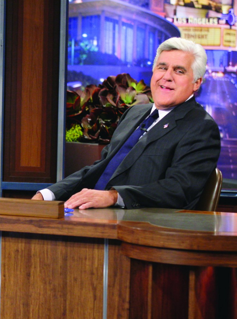 """Tonight Show"" host Jay Leno is taking on-air jabs at NBC amid reports that the network plans to replace him with Jimmy Fallon."