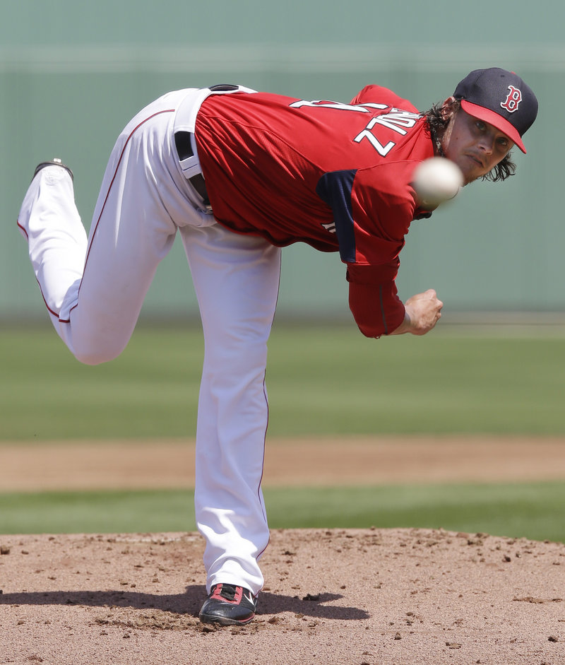 "Clay Buchholz delivered another fine performance in Saturday's exhibition loss to Pittsburgh, yielding just one run in 5 1⁄3 innings and getting rave reviews for ""another very solid outing"" from Manager John Farrell."