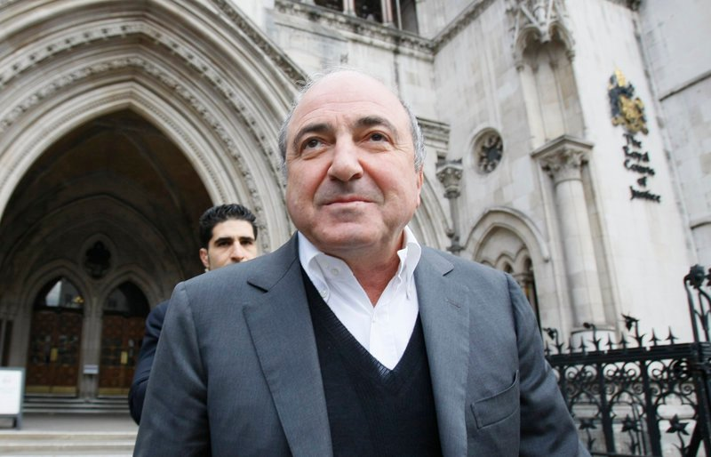 Boris Berezovsky leaves the High Court in London after winning his libel case in March 2010 against a Russian broadcaster that accused him of masterminding the murder of a former Russian agent in London.